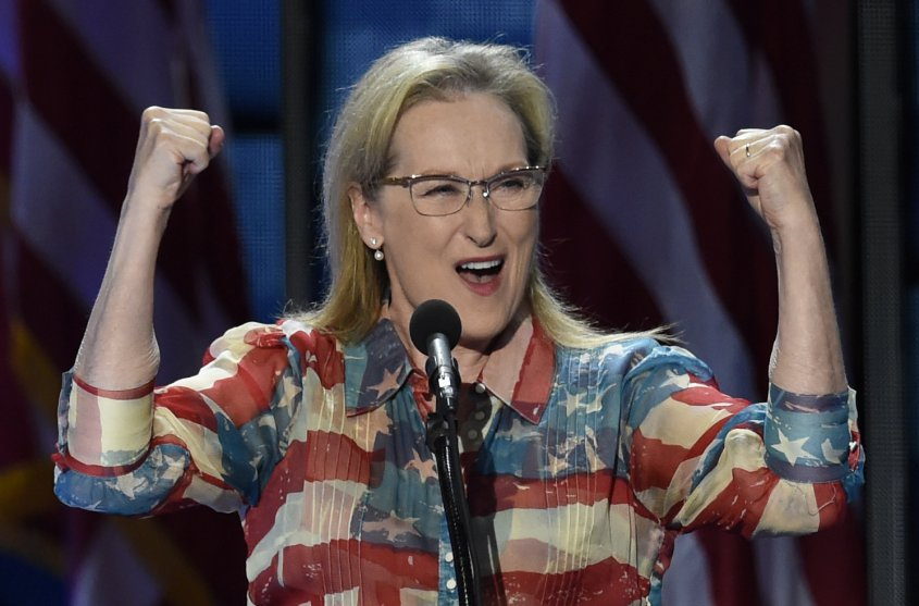 Todos amamos a Meryl Streep.  Foto: AFP