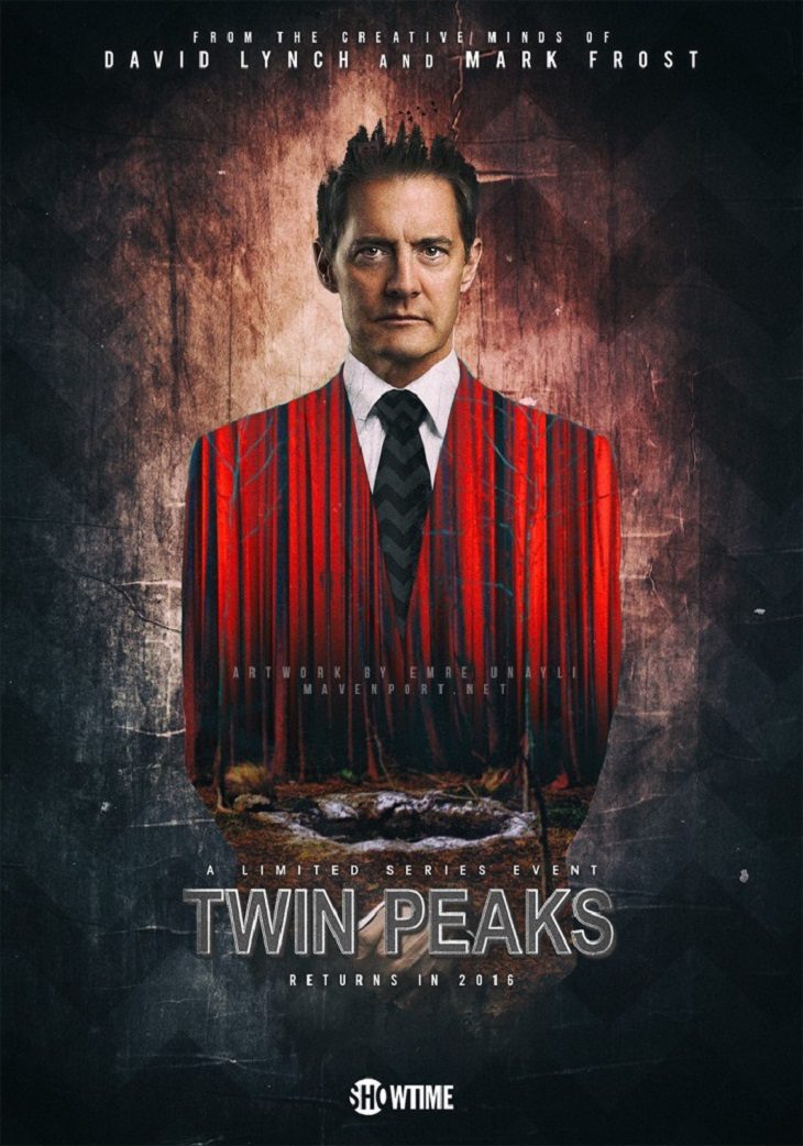 "David Lynch exigió completa libertad creativa para regresar a la TV con ""Twin Peaks"" y se la dieron."