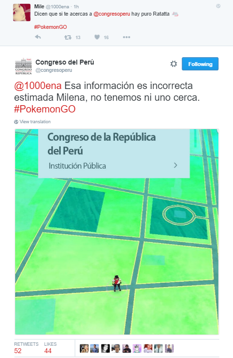 pokemon go congreso