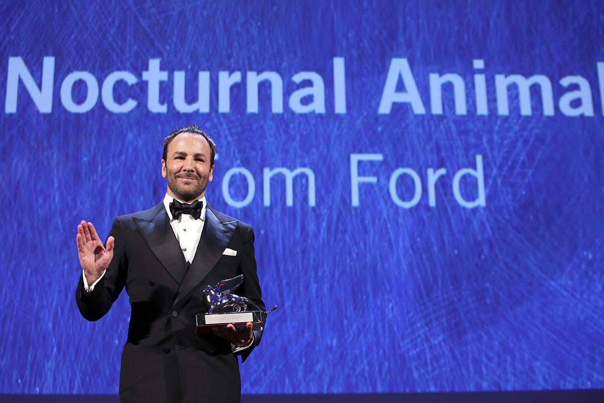 """Tom Ford se alzó con el Gran Premio del Jurado del Festival de Venecia por """"Nocturnal Animals""""."""