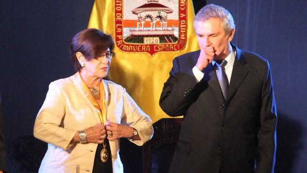 SUSANA VILLARAN Y LUIS CASTAÑEDA