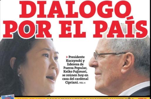 ¿Nadie se va a preguntar quién eligió a Keiko y para qué? Imagen: Perú 21