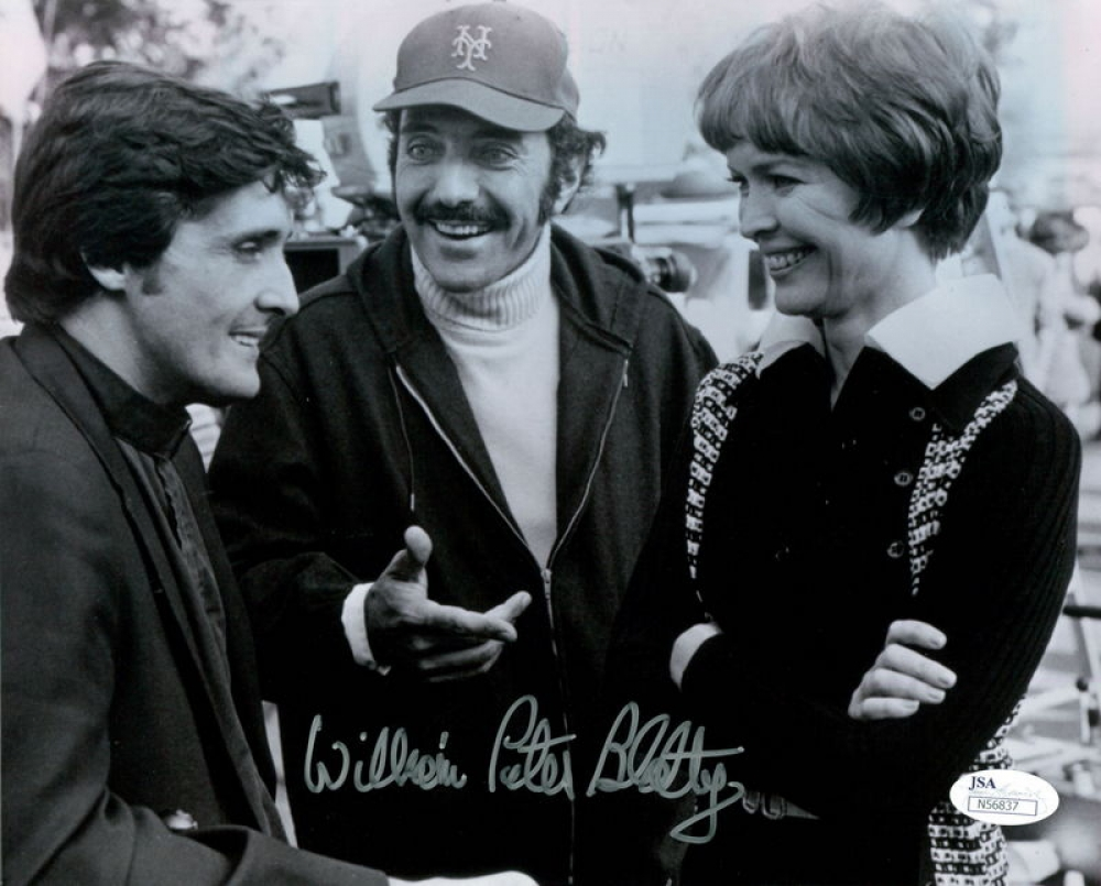 main_1-William-Peter-Blatty-Signed-8x10-Photo-JSA-COA-PristineAuction.com