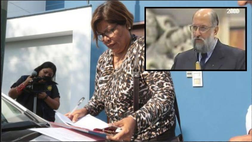 La fiscal Peralta le da buenas noticias a un probado abusador.  Foto: El Comercio/Composición: Útero.Pe