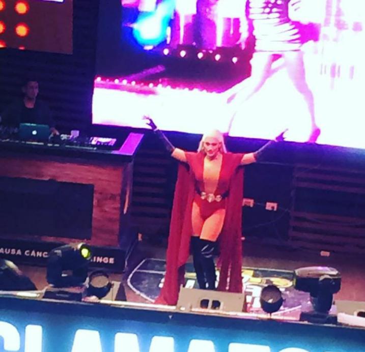 Tatianna en escenario