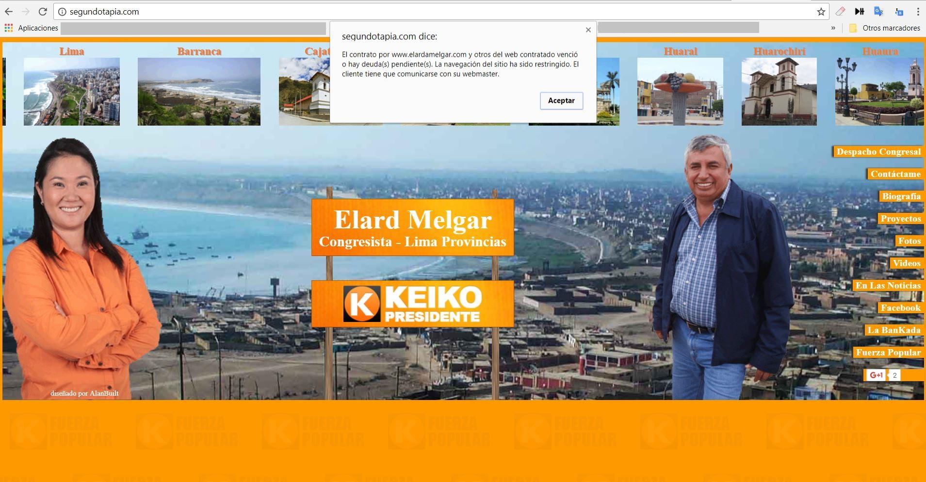 DGDG Imagen: captura Web