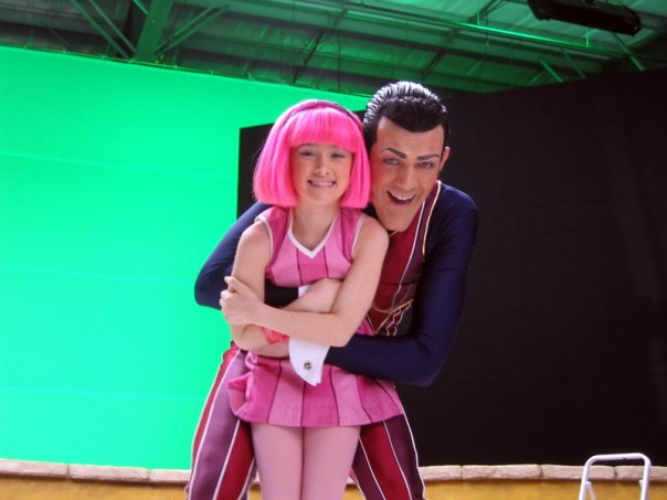 Fuente: Facebook The Official Page for LazyTown