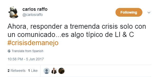 Sutil, criticando a Llorente y Cuenca. Imagen: Twitter