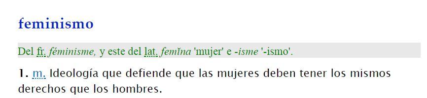 Pa tu konzumO. Imagen: Diccionario de la Real Academia de la Lengua