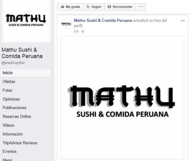 Cambio de logo sin disculpas de por medio. Imagen: Facebook Mathu