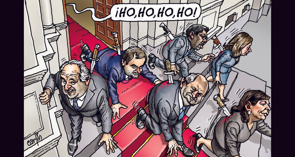 Ilustración de Carlín / La República