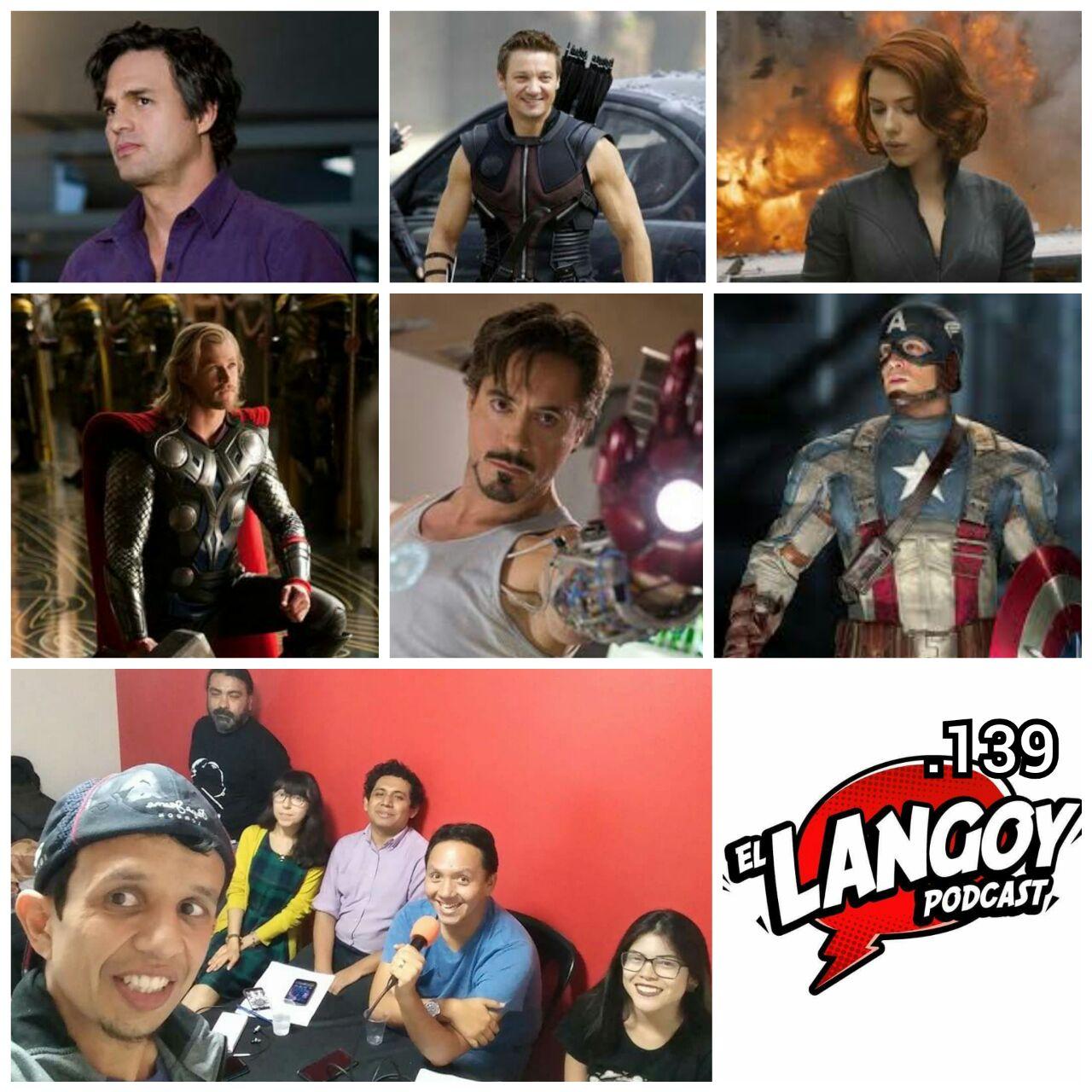El Langoy 139 10 años del MCU Camino a Infinity War (Fase 1)