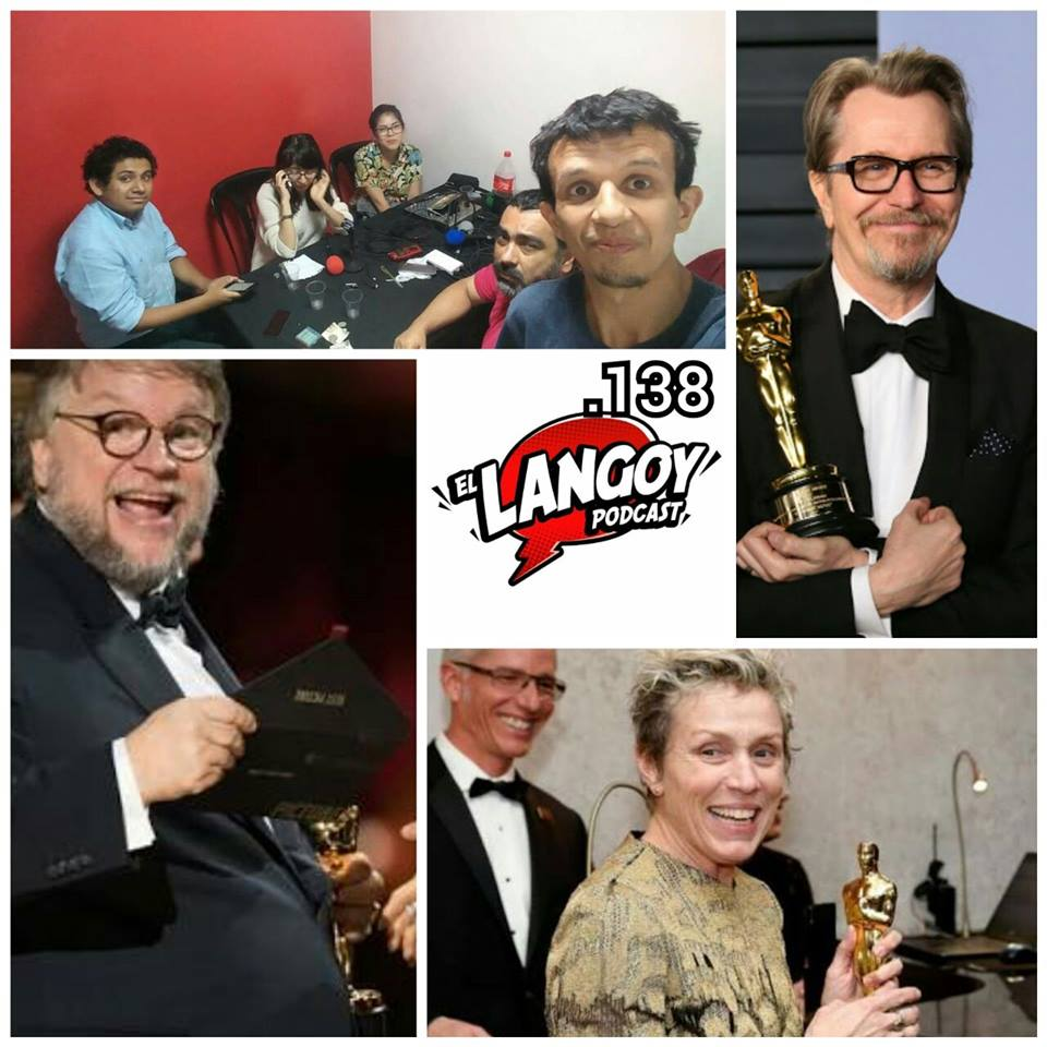 Langoy podcast lima peru oscars guillerml del toro