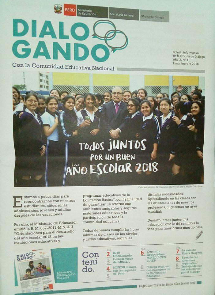 Edición de febrero del 2018. Imagen: Útero.Pe