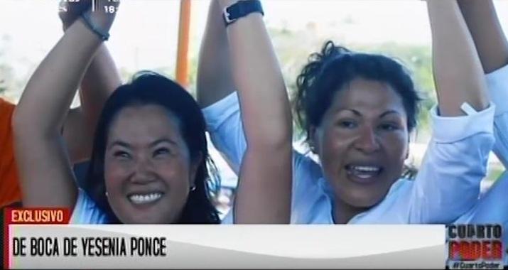 Ella es Yesenia Ponce, por si aún no la ubican.