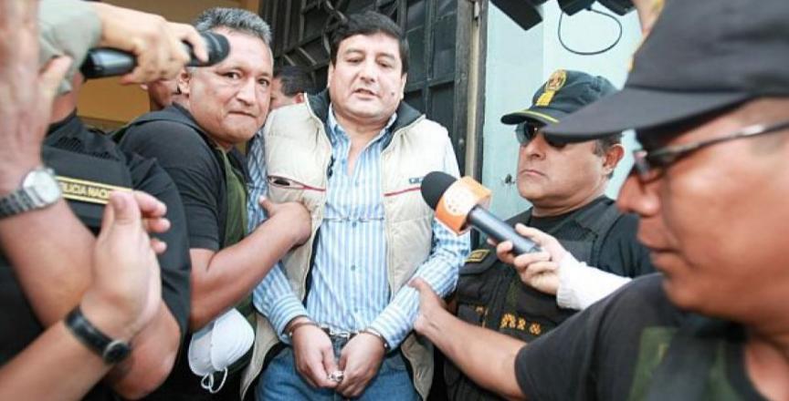"""El """"Lunarejo"""", sentenciado a 20 años de cárcel por narco. Foto: Perú 21"""