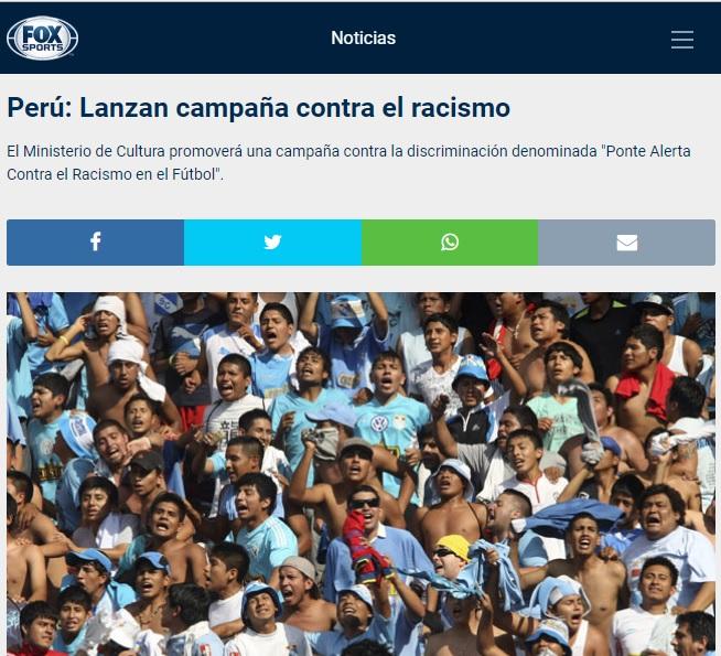 Uhm... Imagen: Fox Sport