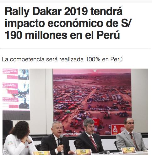 Y se anunció en la agencia del Estado. Imagen: captura Andina