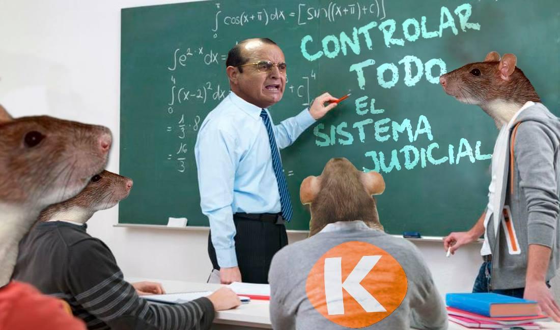 Al maestro con Kriño.  Imagen: Útero.Pe