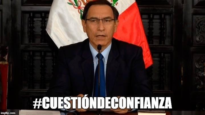 Ponte la banda, Vizcarra.  Imagen: Presidencia