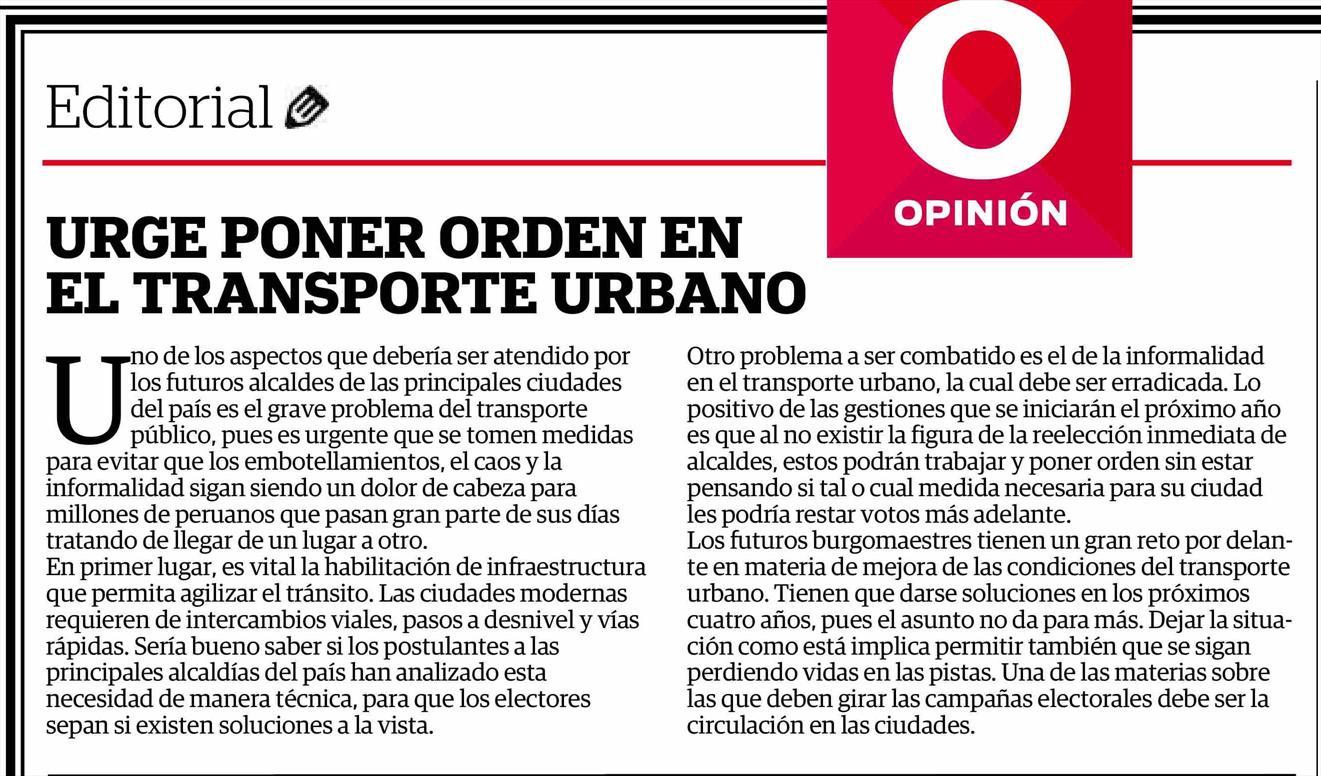 Editorial del Diario Correo del 02-07-2017