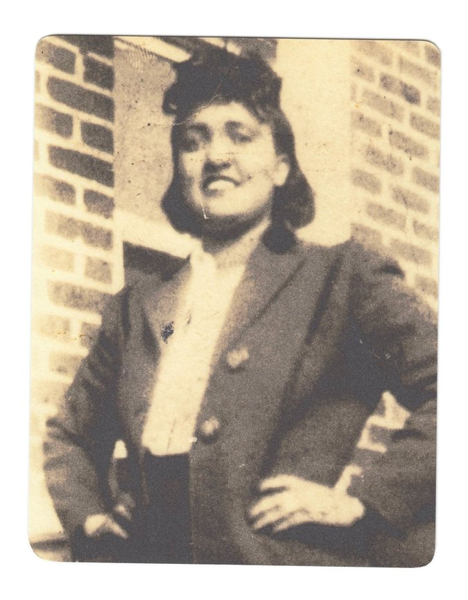 Henrietta Lacks a mediados de 1940. The Henrietta Lacks Foundation, via Associated Press.