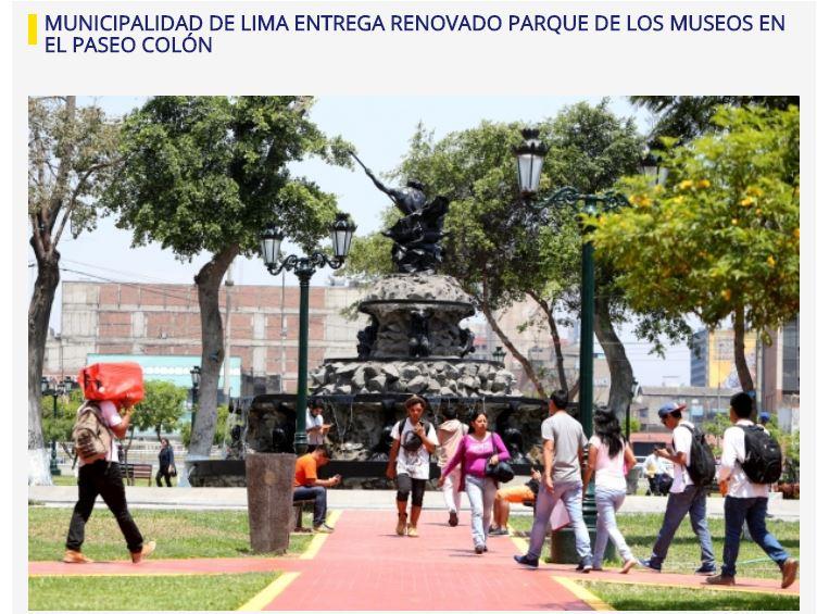 Imagen: Municipalidad de Lima