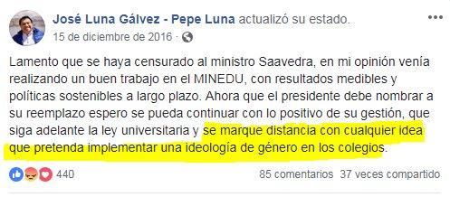 Lo que en realidad piensa el presidente del partido de Urresti.