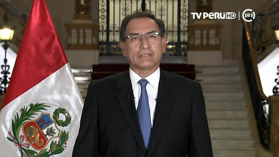 Señor Presidente.  Imagen: TV Perú