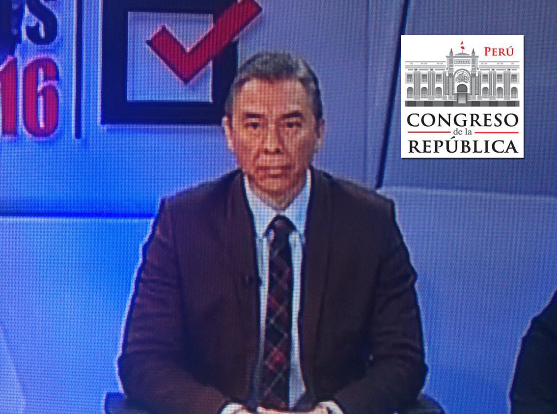 ¿Quién es Vásquez Kunze? Este es Vásquez Kunze. Foto: Captura / TV Perú