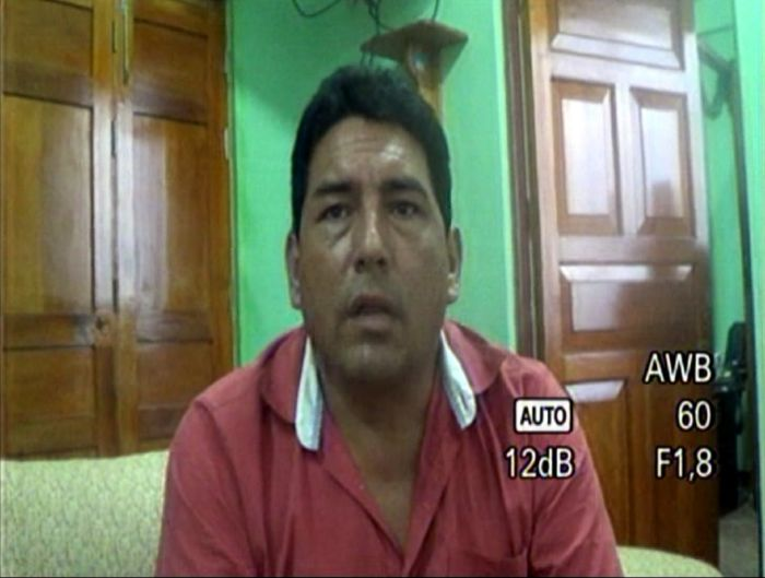 David Bazán, el vínculo de Rolo. Foto: Captura / YouTube.