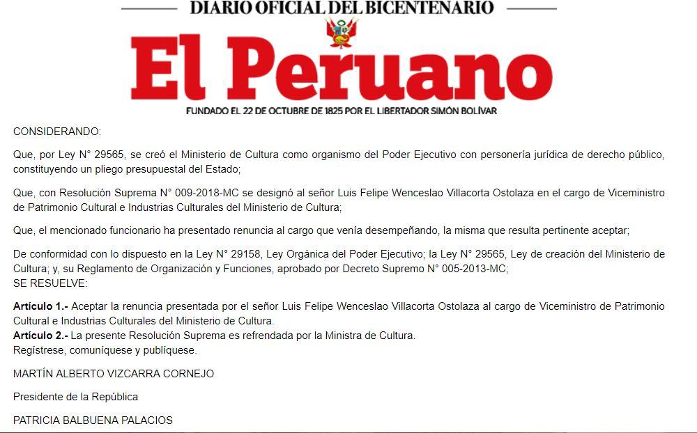 Imagen: El Peruano