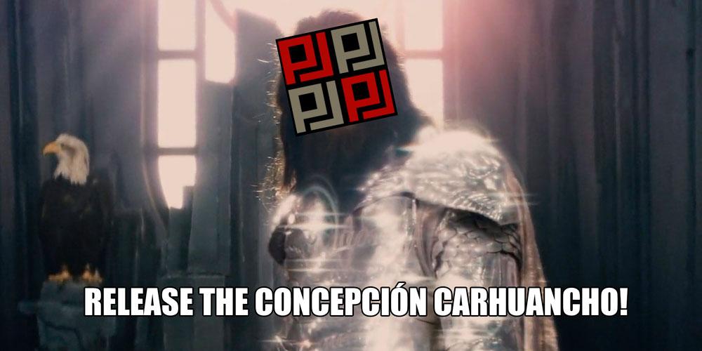 Concepción Carhuancho vendría a ser el Kraken del PJ. Composición: Utero.pe