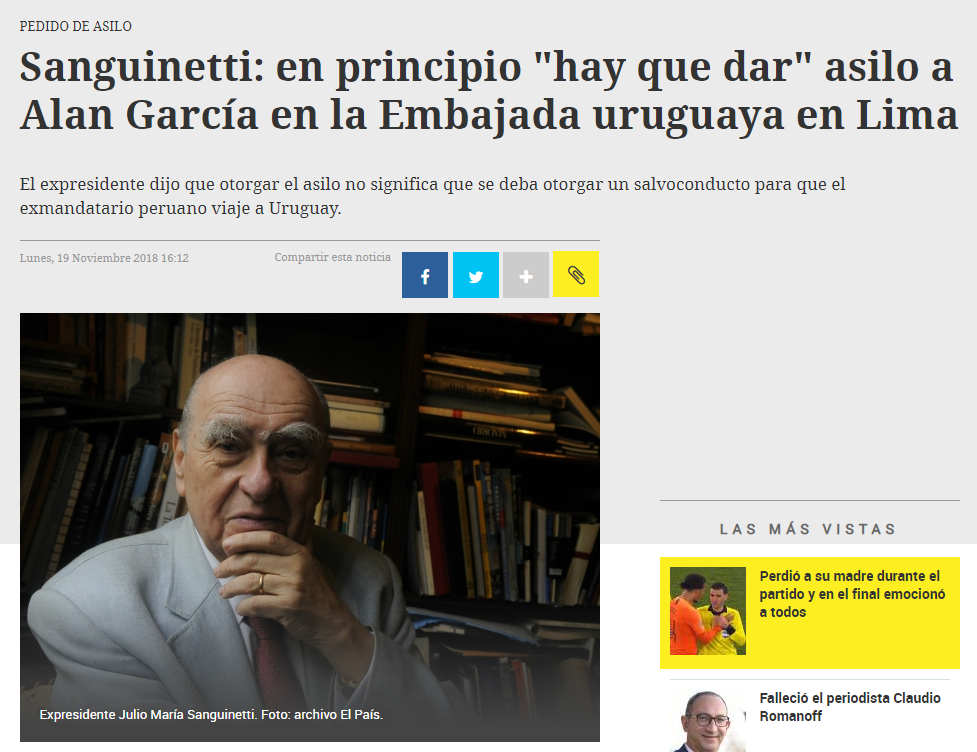 What are you talking about, Julio María, tmr. Foto: Captura / El País Uruguay