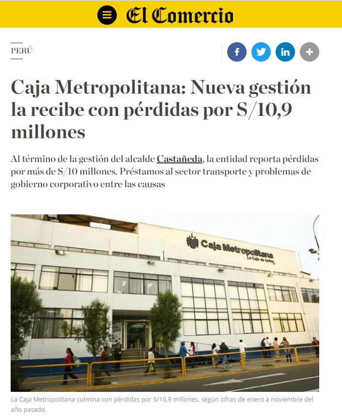 Foto: Captura / El Comercio