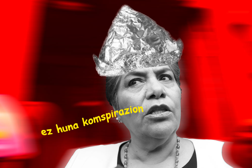 Mamita, los illuminati. Intervención: Utero.pe