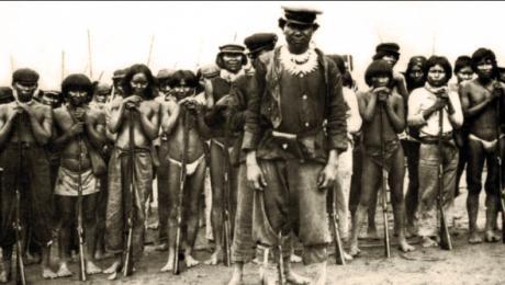 Durante la explotación del caucho a fines del siglo XIX e inicios del XX se produjeron una serie de abusos contra las poblaciones indígenas. Foto: Cultura.gob.pe