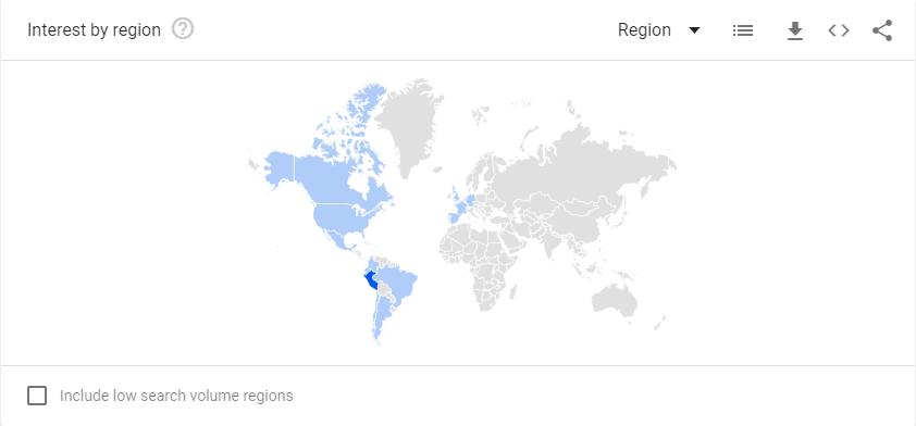 Csm qué tal reach. Foto: Captura/Google Trends