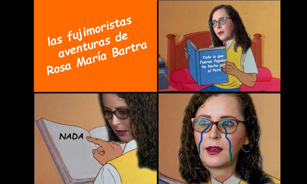 Perdón se nos coló un meme de nuestra colección de 2019 memes de Rosa Bartra. Imagen: Es un meme