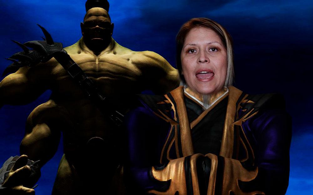 Un saludo a los fans de Mortal Kombat. Composición: Utero.pe