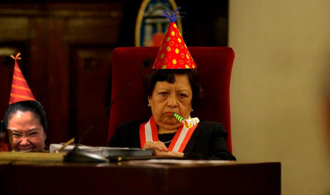 Bueno, ahí no está tan feliz.  Foto: El Comercio, intervención: Útero.Pe