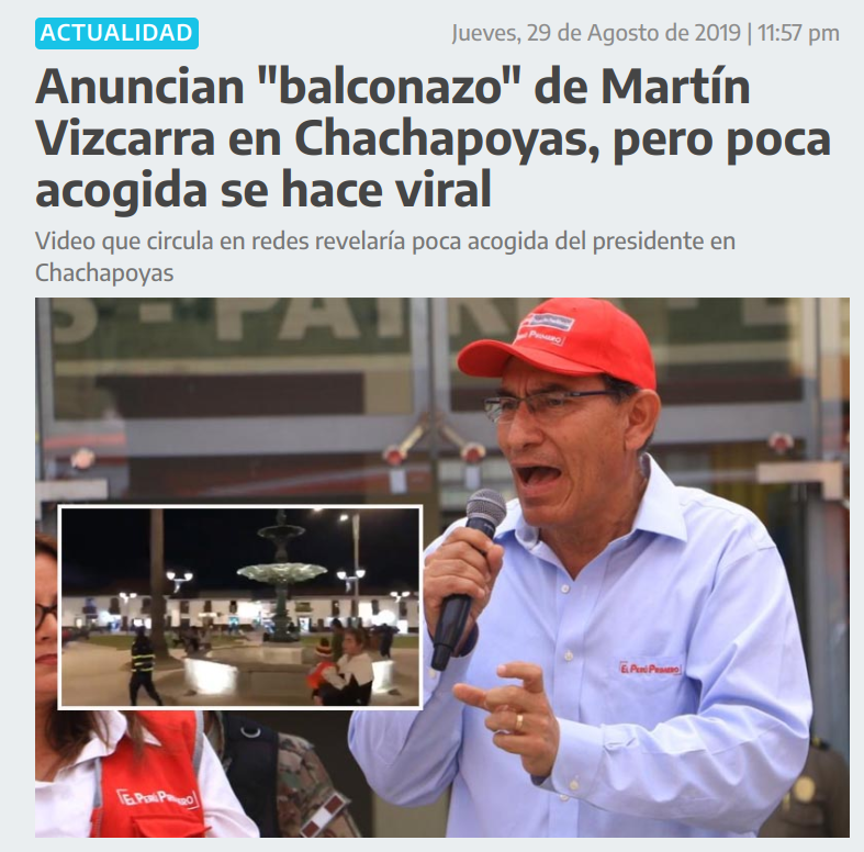 Amigos, esto es fake. Foto: Captura/ATV.pe