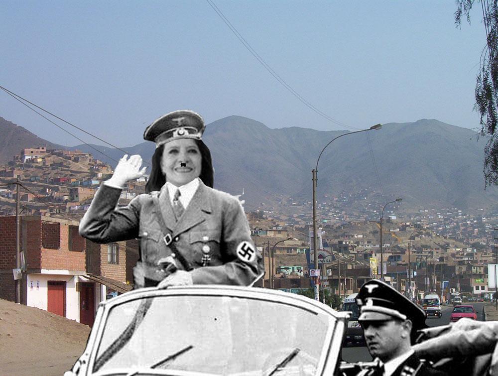 Imágenes exclusivas de Lazo en Lima Norte.  Imagen: Útero.Pe