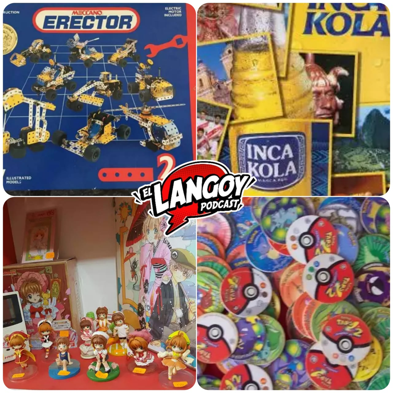 Podcast Langoy Lima Entretenimiento Colecciones