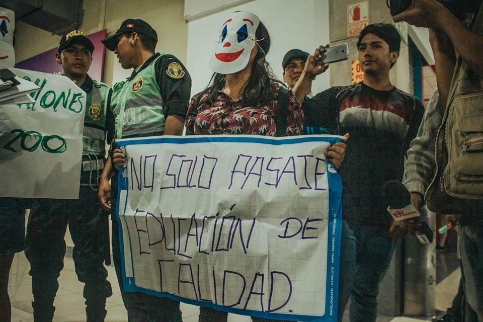 Foto: Centro Federado de Estudios Generales Letras PUCP / Luis Javier Maguiña