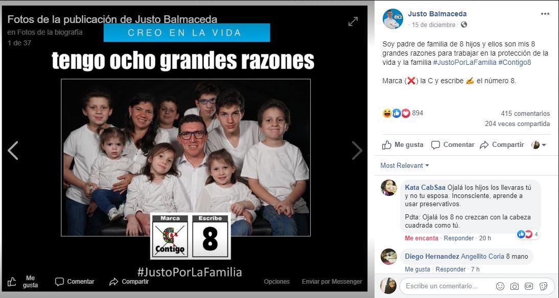 Qué Imagen: captura Facebook