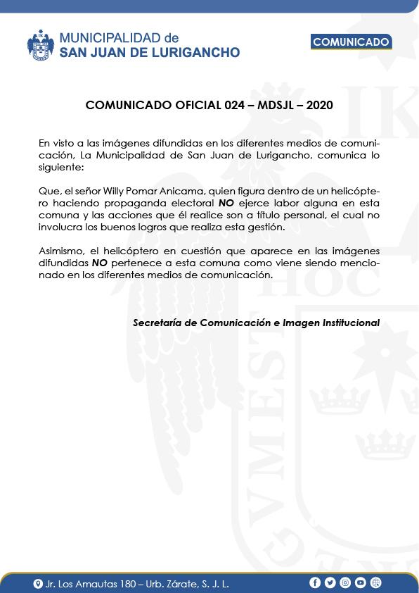 Imagen: Municipalidad SJL