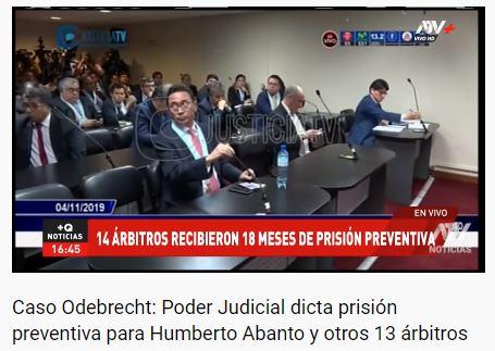 Sí, este Humberto Abanto.