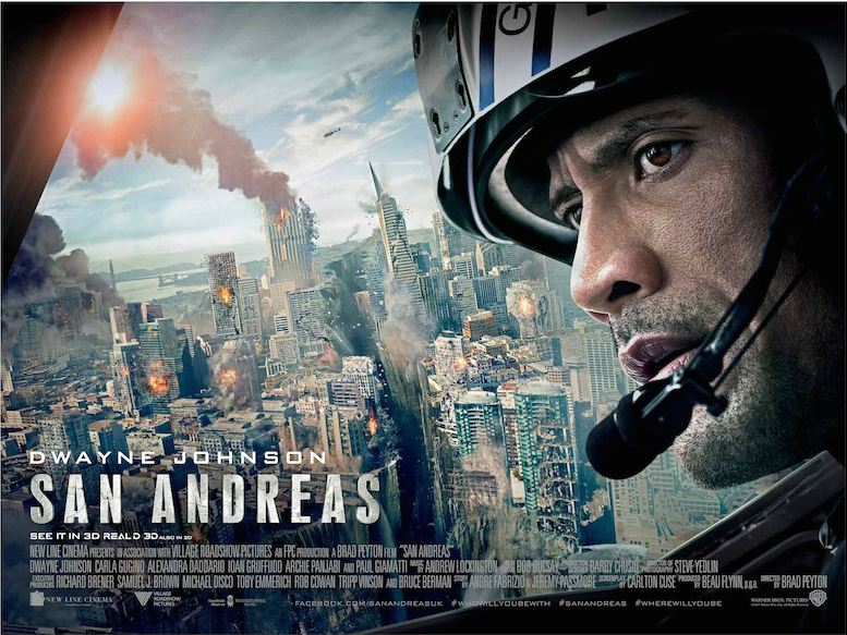 San Andreas Podcast Terremoto la falla de San Andrés Lima Peru El Langoy Brad Peyton Dwayne Johnson