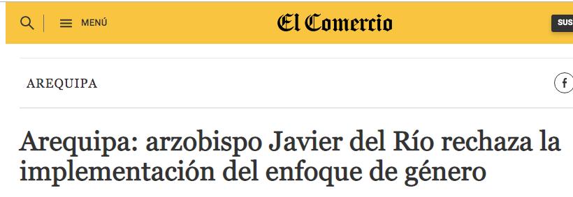 Este es el curita con el que la Sasieta se reúne y orgullosa lo anuncia. Imagen: captura web El Comercio